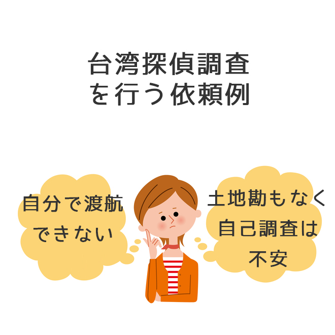 台湾調査を行う事例